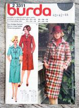 Pochette patron Burda n°23311 - Robe (Vintage)