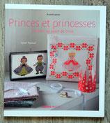 Neuf Livre Princes et princesses à broder au point de croix