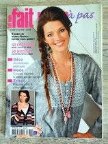 Magazine fait main pas à pas de mars 2010