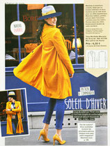 Patron de couture Modes & Travaux - Manteau en velours