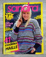Magazine tricot Sandra 31 - Février 1987