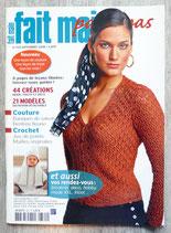 Magazine Fait main pas à pas de septembre 2008 (320)