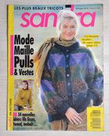 Magazine tricot Sandra 75 - Octobre 1990