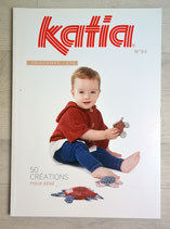 Magazine tricot Katia 84 - Layette printemps-été