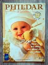 Magazine Phildar n°286 - layette hiver 1996-1997