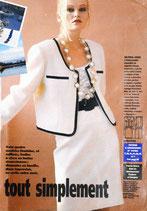 Patron de couture Modes & Travaux - Tailleur femme