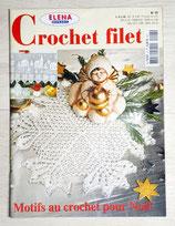 Magazine Elena Ouvrages 27 - Motifs au crochet pour Noël