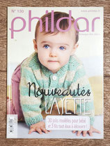 Magazine Phildar 130 - Printemps-été 2016