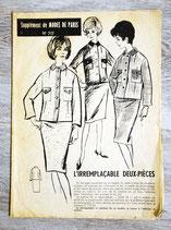 Patron Modes de Paris n°717 - Tailleur femme vintage