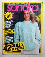 Magazine tricot Sandra 39 - Octobre 1987