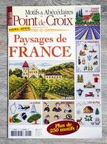 Magazine Point de croix hors série Paysages de France