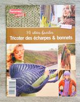 Livre Tricoter des écharpes et bonnets - 14 idées faciles