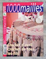 Magazine 1000 Mailles n°271 - Crochet d'avril