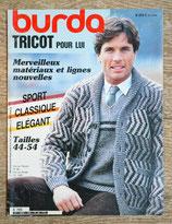 Magazine Burda Spécial tricot pour lui - E769