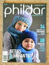 Magazine Phildar n°78 - bébés et enfants automne-hiver 12-13