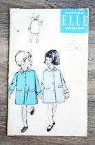 Pochette patron Elle 3511 - Manteau enfant (Vintage)