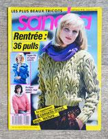 Magazine tricot Sandra 62 - Septembre 1989