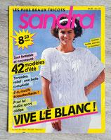 Magazine tricot Sandra n°34 - Mai 1987