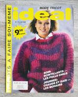 Magazine Idéal tricot n°11 - 12/1986