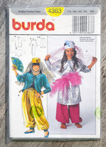 Pochette patron Burda n°4363 - Patron femme de harem