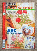 Magazine Hors série Point de croix - Broderie magique