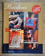 Magazine Spécial broderie Fêtes de fin d'année