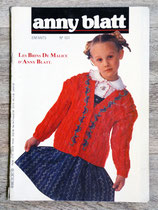 Magazine tricot Anny Blatt enfants n°101