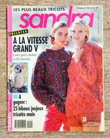 Magazine tricot Sandra 102 - Janvier 1993