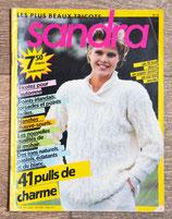 Magazine tricot Sandra 15 - Septembre