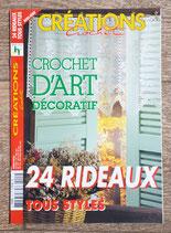 Magazine Créations crochet HS - 24 rideaux tous styles