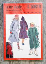 Pochette patron Neue Mode L 50818 - Manteau enfant