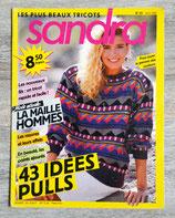 Magazine tricot Sandra n°33 - Avril 1987