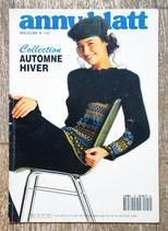 Magazine tricot Anny Blatt 142 - Automne-hiver