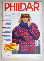 Magazine Phildar mailles 123 - Hiver