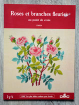Livre de broderie - Roses et branches fleuries