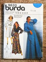 Patron couture Burda 9633 - Ensemble haut- jupe