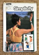 Pochette patron couture Simplicity 6898 - Haut femme 38-40-42