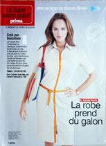Patron de couture Prima 236 - Robe boutonnée