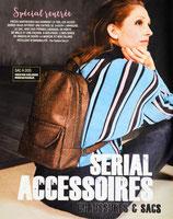 Patron de couture Modes & Travaux - Sac à dos