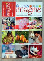 Magazine Artemio imagine n°18 (loisirs créatifs)