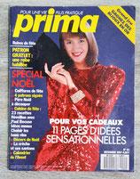 Magazine Prima n°63 de décembre 1987 avec super patron