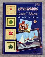 Livre Patchworks sans couture sur carton-mousse - Vol. 3