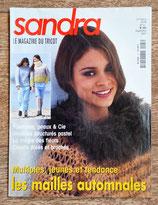 Magazine tricot Sandra 203 - Septembre 2001