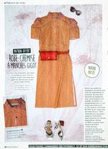 Patron de couture Modes & Travaux - Robe-chemise