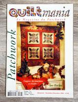 Magazine Quiltmania n°38 (Patchwork)