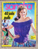 Magazine tricot Sandra 59 - Juin 1989
