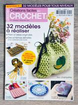 Magazine Créations faciles au crochet - 32 modèles