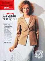 Patron couture Prima n°233 - Veste dame