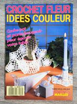Magazine Crochet fleur, idées couleur