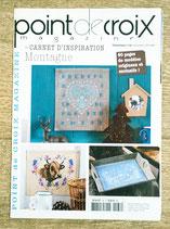 Point de croix magazine thématique 66 - Carnet d'inspiration Montagne